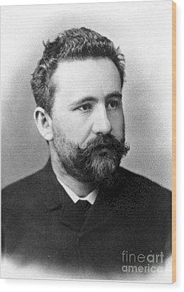 Emil Kraepelin, German Psychiatrist Wood Print by Science Source