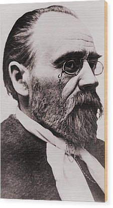 Emile Zola 1840-1902, French Novelist Wood Print by Everett
