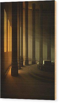 Empty Room Wood Print by Svetlana Sewell