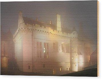 Enchanted Stirling Castle Scotland  Wood Print by Christine Till
