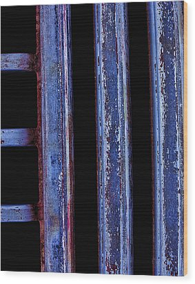 Engine Grill Wood Print