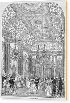 England - Royal Ball 1848 Wood Print by Granger