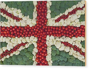 England Wood Print by Axiom Photographic
