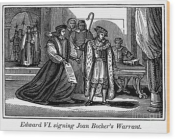 England: Martyr, 1550 Wood Print by Granger