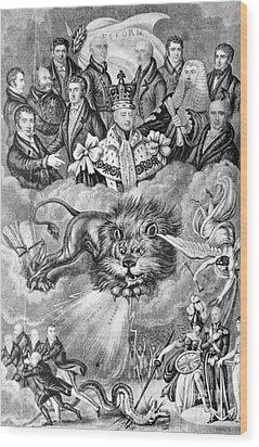 England: Reform, 1830 Wood Print by Granger