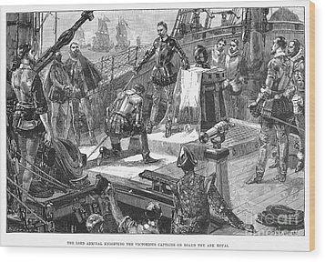 England: Victory, 1588 Wood Print by Granger