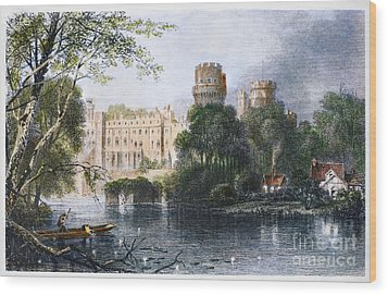England: Warwick Castle Wood Print by Granger