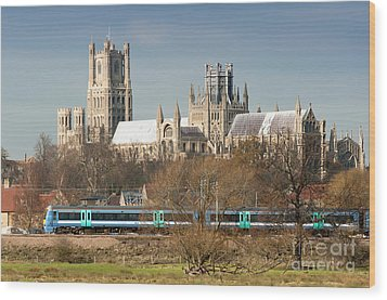 Wood Print featuring the photograph English Train by Andrew  Michael