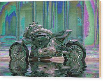Enough Rain Already Wood Print by Wayne Bonney