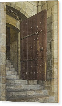 Wood Print featuring the photograph Entrance by Marta Cavazos-Hernandez