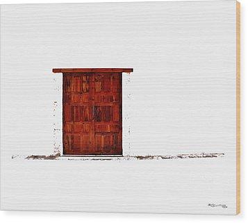 Entrance Wood Print by Xoanxo Cespon