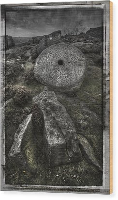Epitaph Wood Print by Andy Astbury