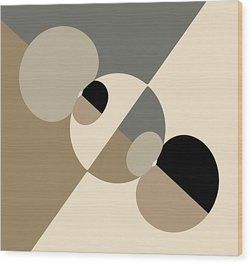 Equilibrium Wood Print by Mark Greenberg