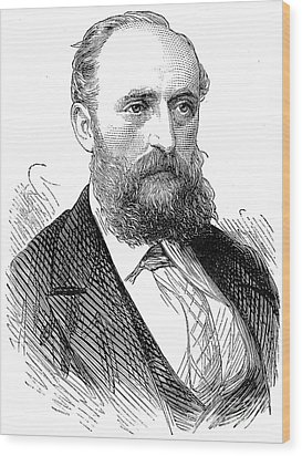 Ernest Giles (1835-1897) Wood Print by Granger