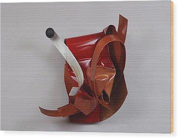 Erotic Swells Wood Print by Mac Worthington