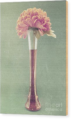 Estillo Vase - S01t04 Wood Print by Variance Collections