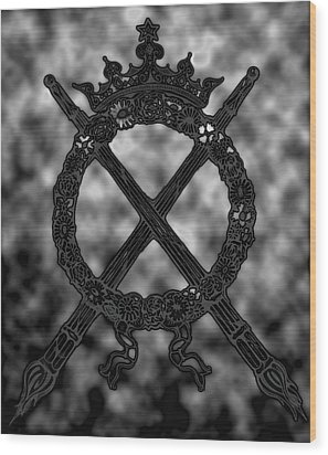 eternal flame II Wood Print by Phil Bongiorno