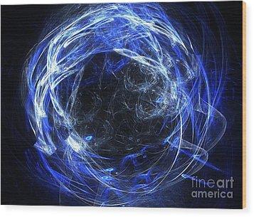 Wood Print featuring the digital art Eternal by Kim Sy Ok