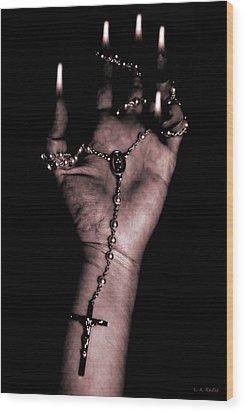 Wood Print featuring the photograph Eternal Struggle by Lauren Radke