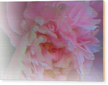 Ethereal Changing Mood Wood Print by Liz Evensen