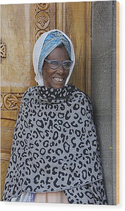 Ethiopia-south Orthodox Christian Woman Wood Print