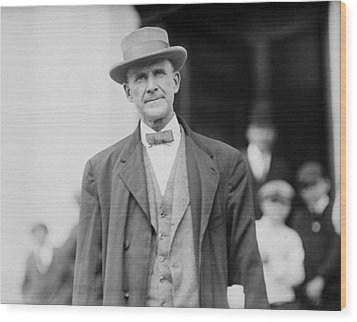 Eugene Debs 1855-1926 In 1912. He Wood Print by Everett