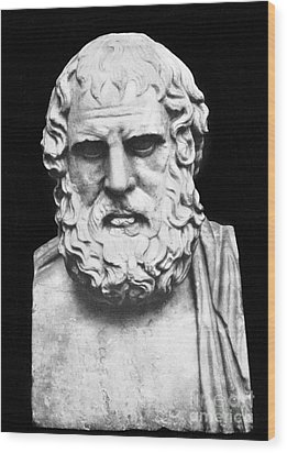 Euripides Wood Print by Granger