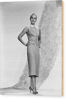 Eva Marie Saint, 1956 Wood Print by Everett
