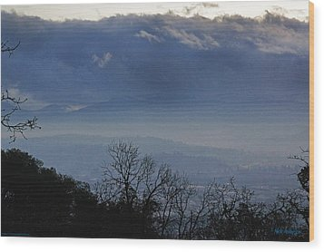 Wood Print featuring the photograph Evening At Grants Pass by Mick Anderson