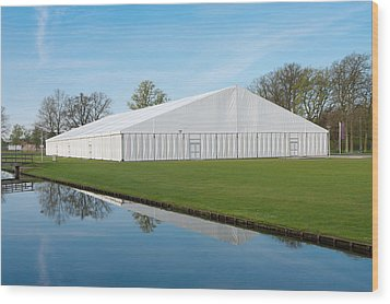 Event Tent Wood Print by Hans Engbers