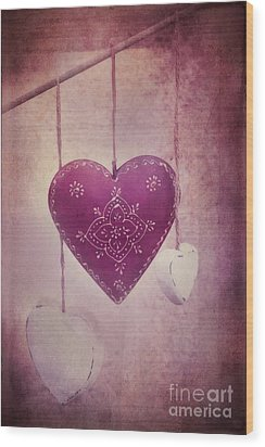 Ever And Anon Wood Print by Priska Wettstein