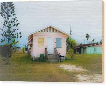 Everglades City Eye Candy Wood Print by Lynn Wohlers
