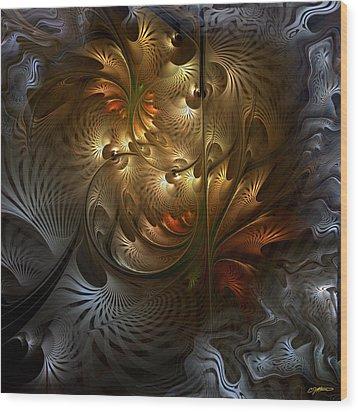 Evocation Wood Print by Casey Kotas