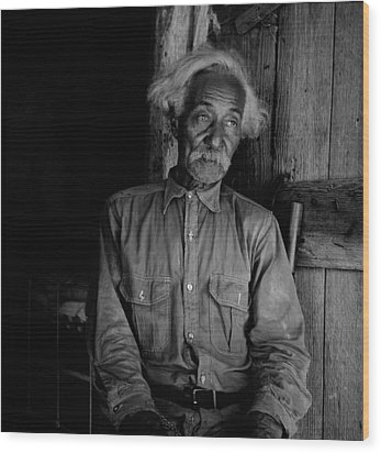 Ex-slave Bob Lemmons Was Born Wood Print by Everett