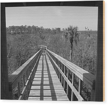 Wood Print featuring the photograph Exit To by Bill Lucas