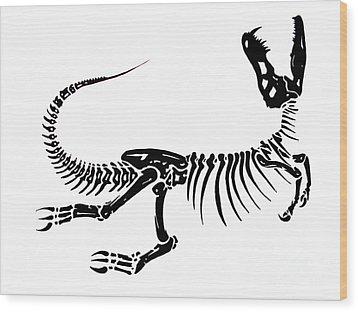 Extinction Wood Print by Jack Norton