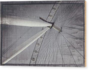 Eye On London Wood Print