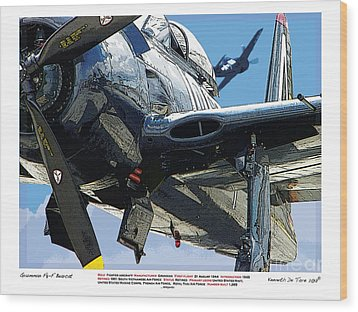 F8-f Bearcat Wood Print by Kenneth De Tore