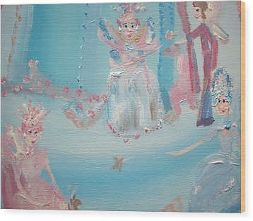 Fairy Godmother Convention Wood Print