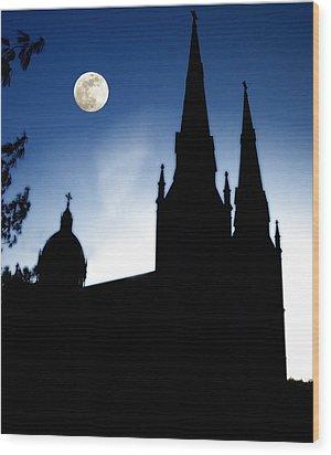 Wood Print featuring the photograph Faith by Raymond Earley