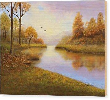 Fall Ambrosia Wood Print