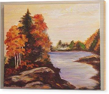 Fall Is Beatiful Wood Print