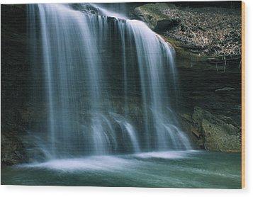 Falls Bottom Wood Print