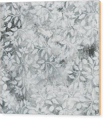 Falls Design 2 Wood Print by Megan Duncanson