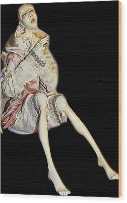 Fantina Wood Print by Nataly Fomina