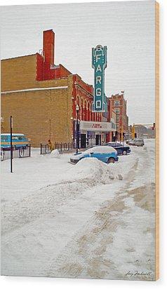 Fargo-2 Wood Print