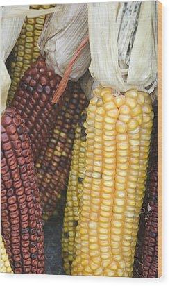 Farmers Market - 010 Wood Print