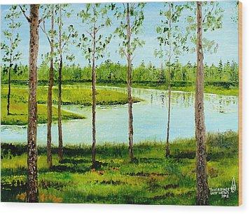 Faver Dykes Wood Print