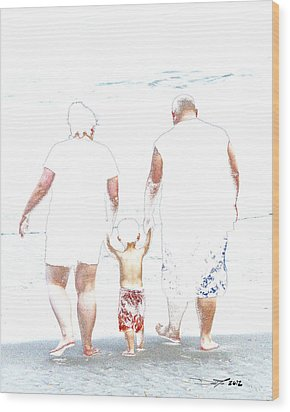 Fearless When You're With Me Wood Print by David Lee