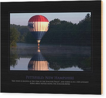 Feel Like Floating Wood Print by Jim McDonald Photography
